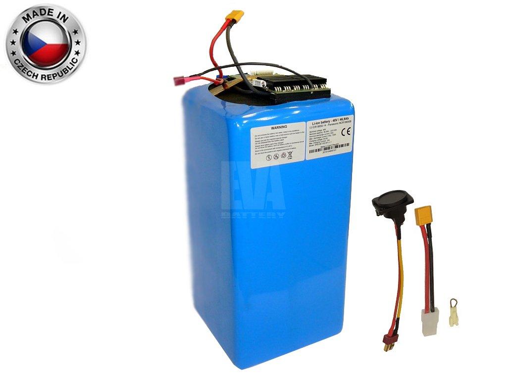 Akumulátor Li ion LG 48V, 59,5Ah, plast