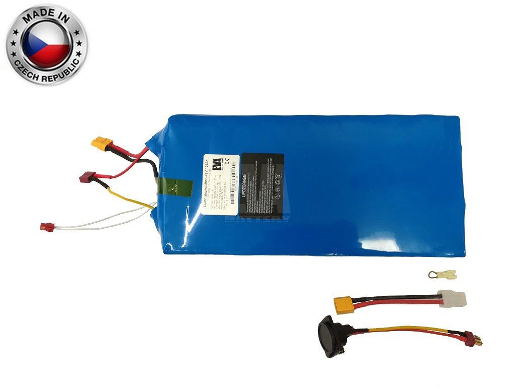 Akumulátor Li ion LG 48V, 22,4Ah, plast