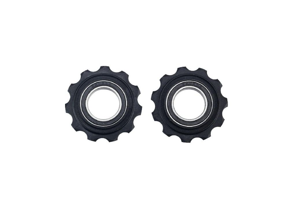 kladky BDP-05 RollerBoys 11z SRAM černé