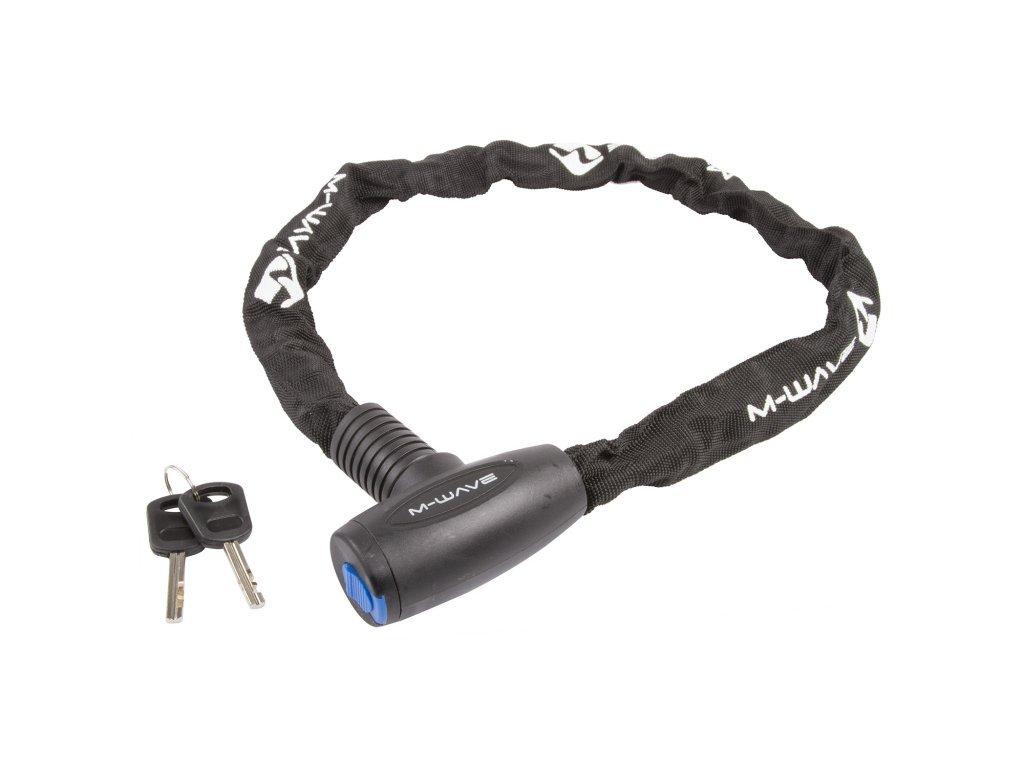 zámek  M-Wave 6x6x850mm řetězový