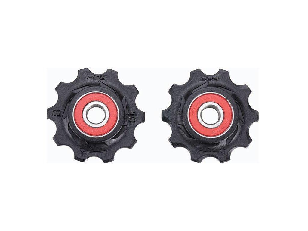 kladky BDP-11 RollerBoys 10z černé keramika