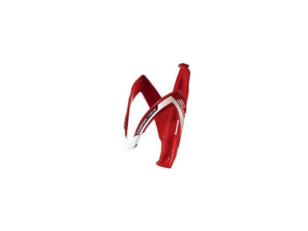 košík ELITE Custom Race Red glossy bílý