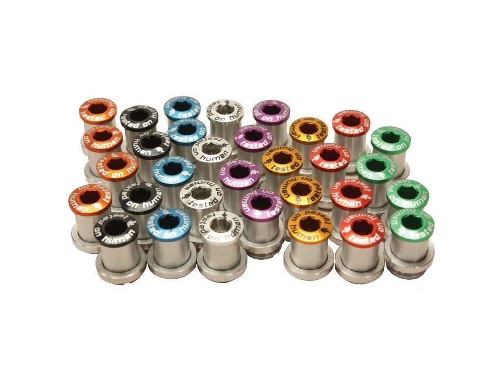 šrouby do převodníku ShamanRacing 13mm, 4ks fialové