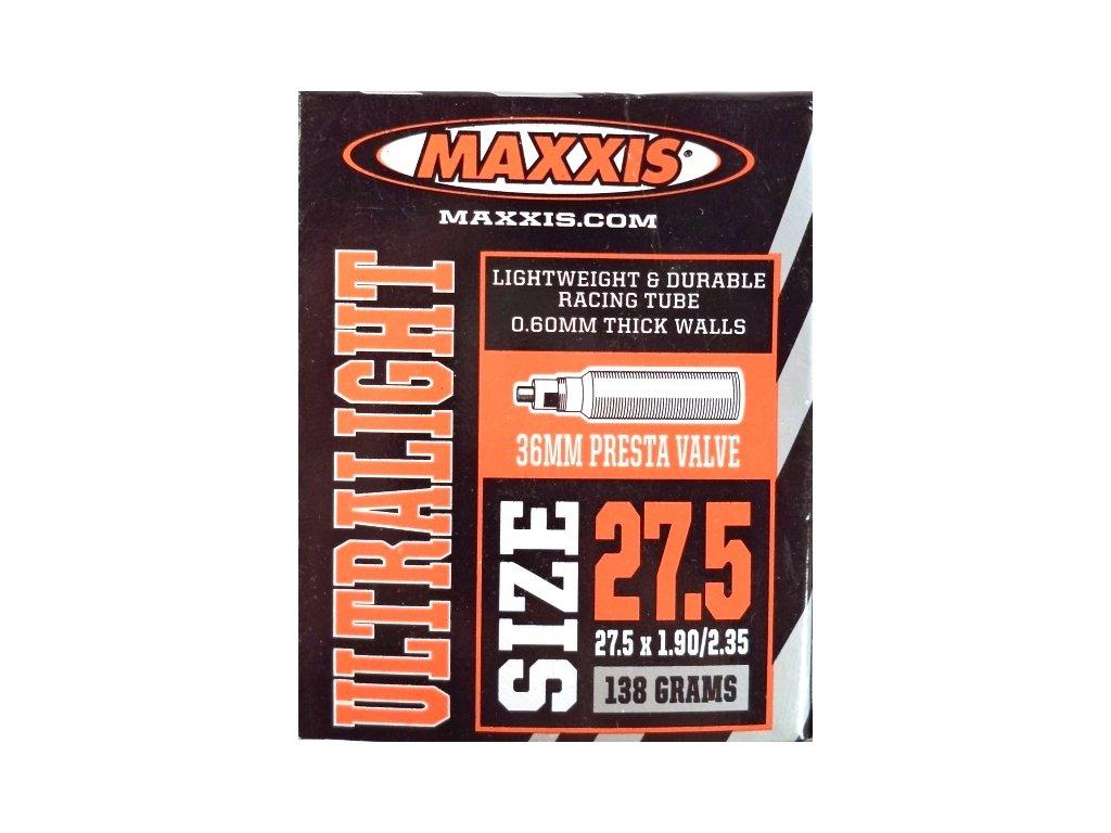 """duše MAXXIS Ultralight 27.5""""x1.90-2.35 (48/60-584) FV/40mm"""
