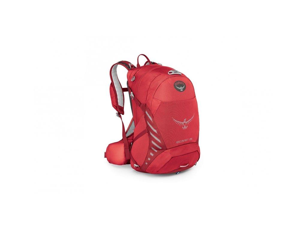 batoh + pláštěnka OSPREY ESCAPIST 25 Cayenne Red