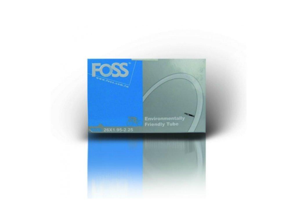 """duše FOSS 26""""x1.95-2.25 (50/57-559) AV/40mm"""