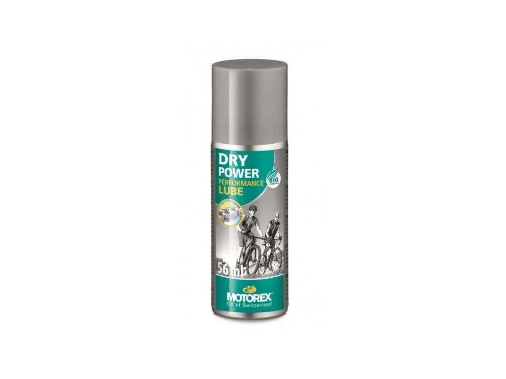 olej MOTOREX Dry Power spray 56ml plnící