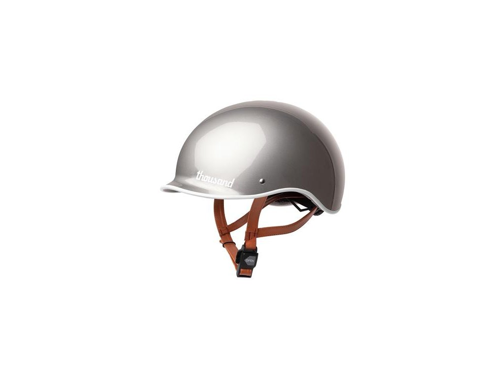 silver bike helmet 007 600x