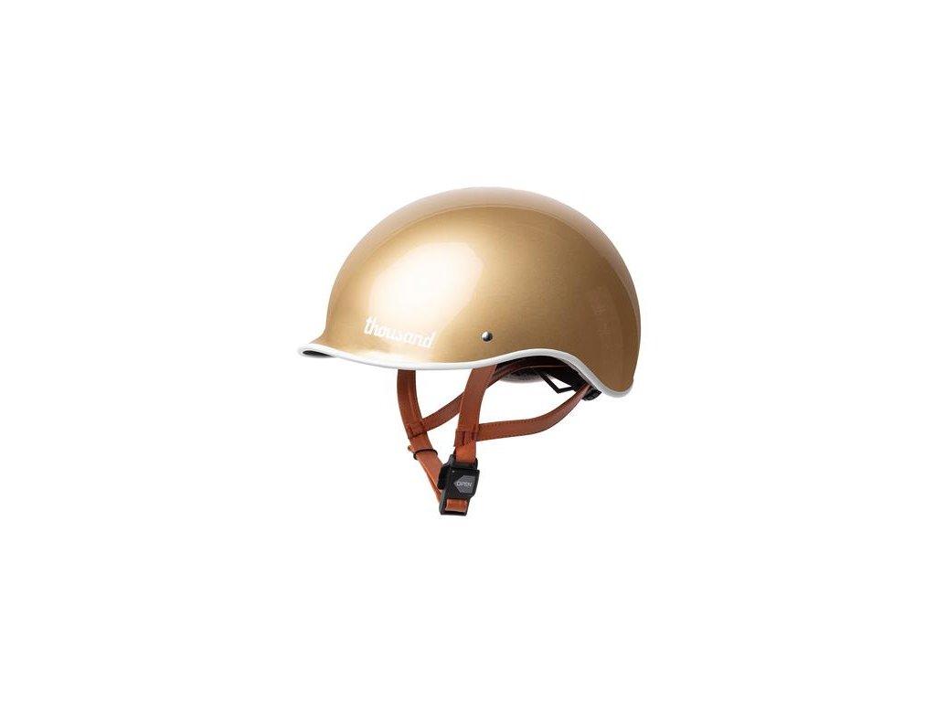 gold bike helmet 007 600x