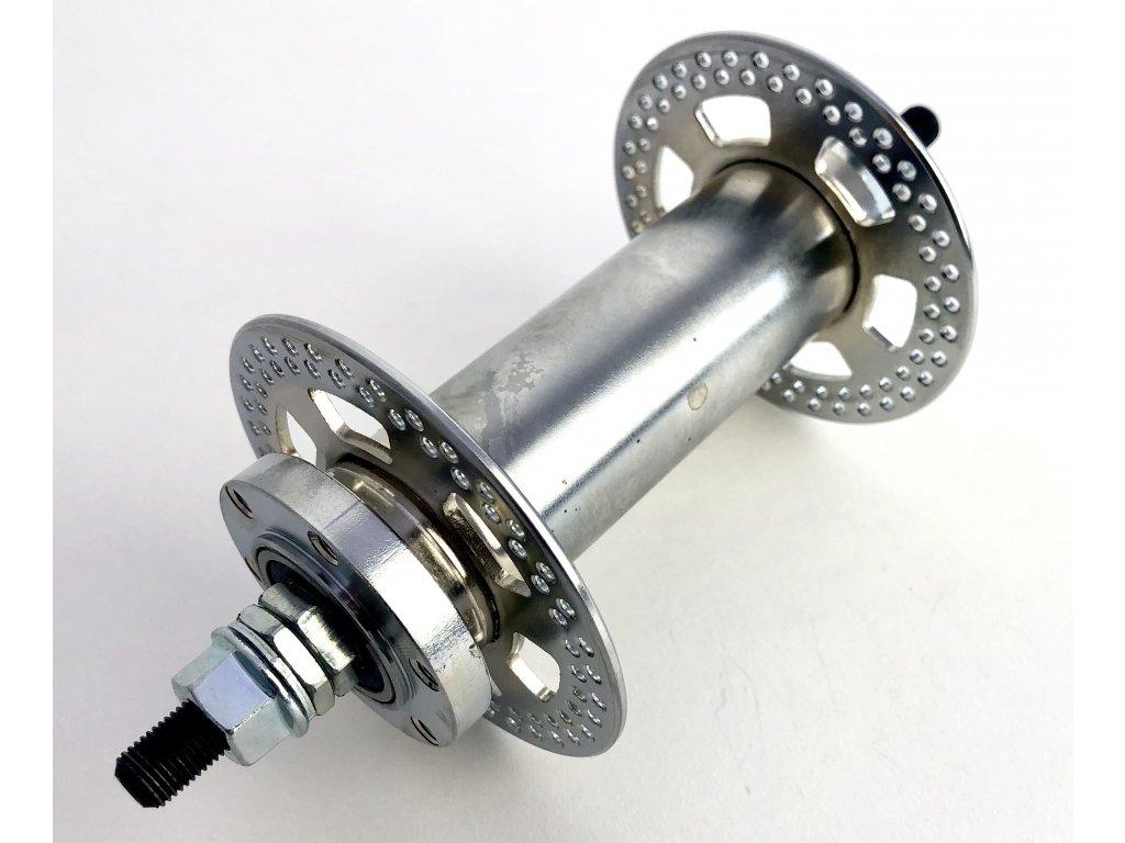 Extra široký přední náboj 150 mm, pro ráfky 100 mm, kotoučová brzda, 144 děr