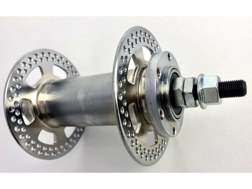 Extra široký přední náboj pro ráfky 100 mm, kotoučová brzda, 144 děr
