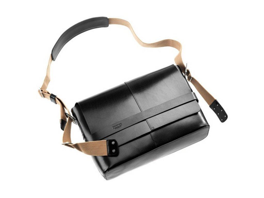 BROOKS Barbican Hard Leather kožená brašna černá