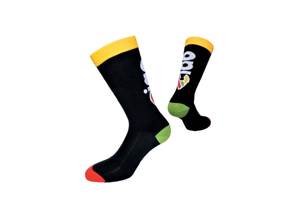 Ponožky Cinelli CIAO BLACK