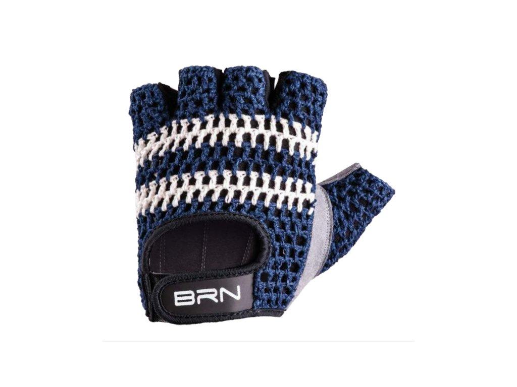Cyklistické rukavice VINTAGE VELOCE modré