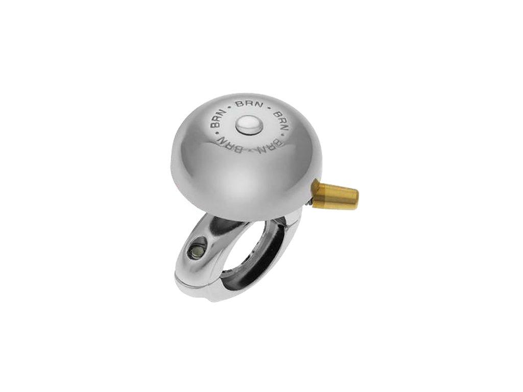 67494 zvonek vintage campanello anita 40mm s pruzinovym udernikem chrom zvonek pro klasicka kola s prekrasnym decentnim a jasnym zvukem o prumeru kloboucku 40mm v chromu