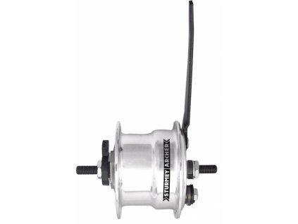 náboj Sturmey-Archer X-FDD30T bubnová brzda 70mm + dynamo 6V/3W