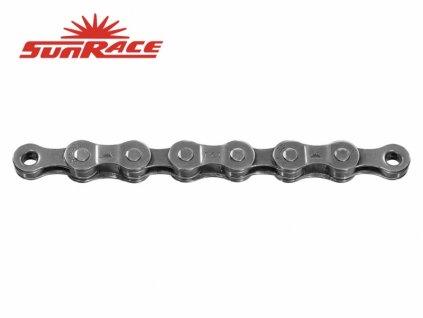 řetěz SunRace CNM84 8k 116čl. šedý