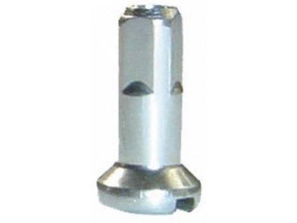 nipl CnSpoke mosaz 2x14mm stříbrný
