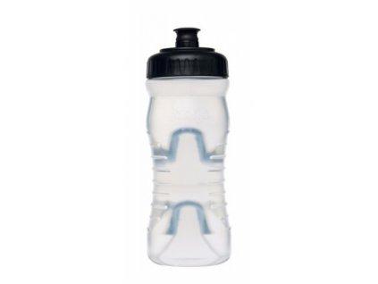 lahev FABRIC 600ml clear/černá