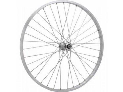 """kolo zapletené 20"""" 406-21 přední 36 děr stříbrné CnSpoke"""