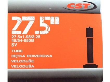 """duše CST 27.5""""x1.95-2.25 (48/54-584) AV/33mm"""