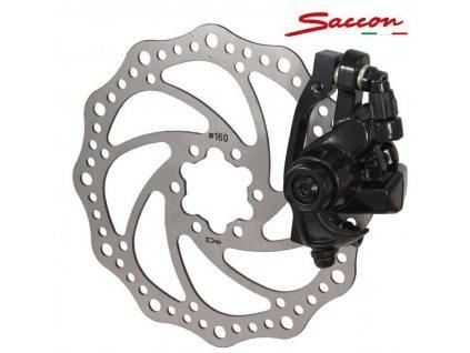 brzda kotoučová Saccon zadní mechanická s kotoučem 160mm