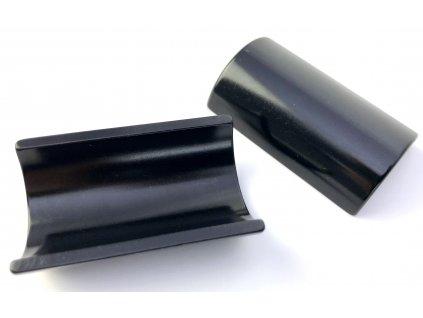 Redukce řídítek - 25,4 - 31,8 mm, černá
