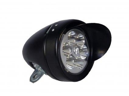 Přední světlo Classic Visor LED, černé