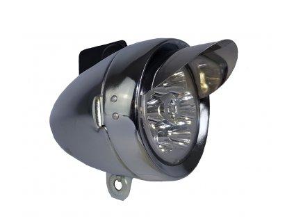 Přední světlo Classic Visor LED, chrom