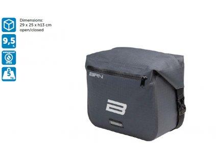 BRN Bike Travel Handlebar bag 9,5L