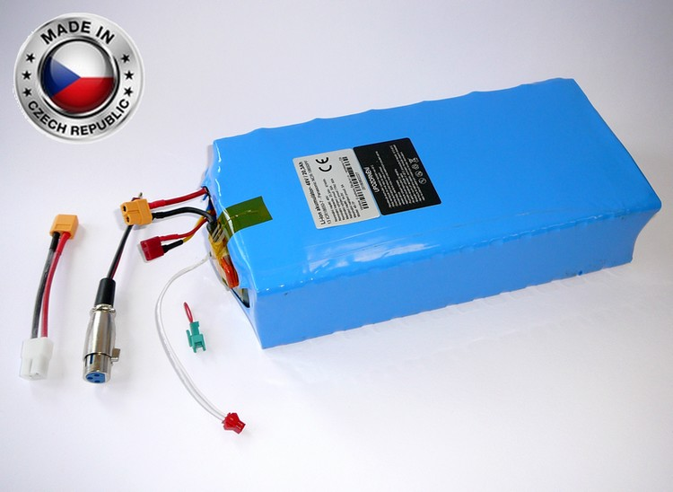 Akumulátor Li-ion LG 48V, 24,5Ah, plast