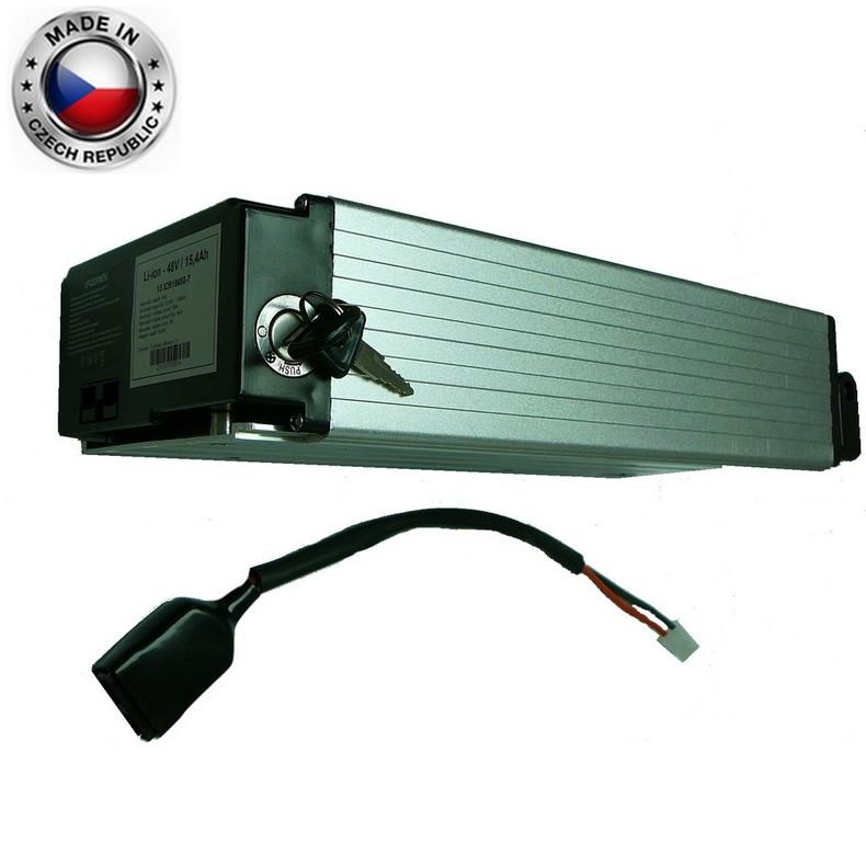 Akumulátor Li-ion LG 48V, 22,4Ah, Alu box