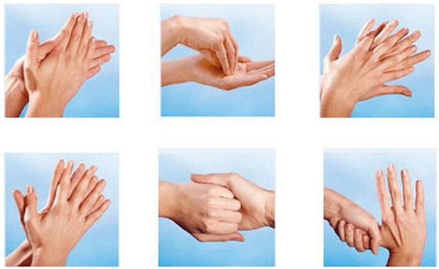 Správné mytí rukou