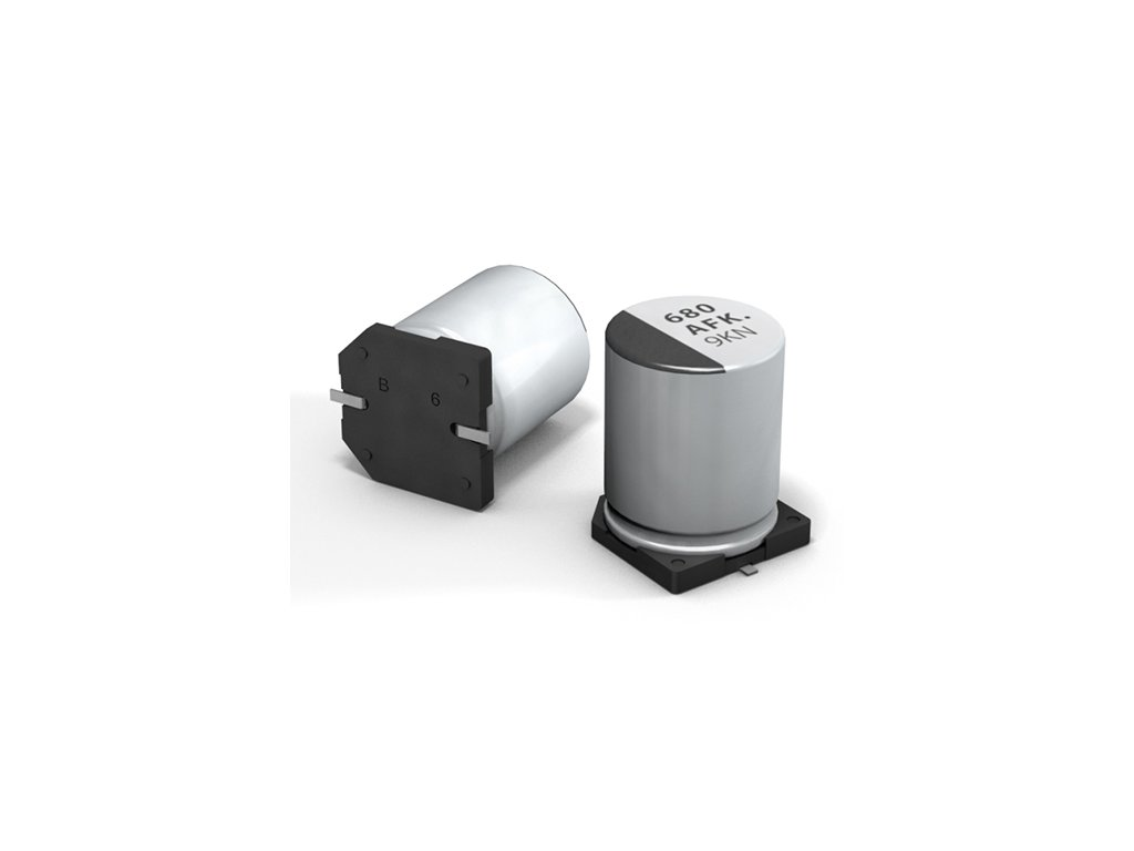 CE 680uF 16V 105°C SMD 10x10,2mm FK (Low ESR)