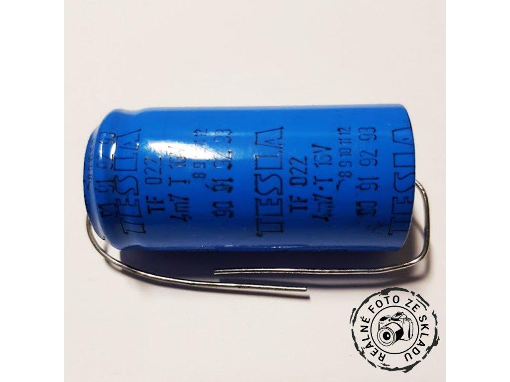 CE TF022 4700uF 16V axiální