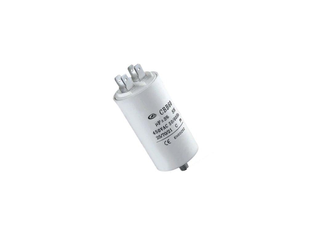 Kondenzátor rozběhový 10uF 450V CBB60E