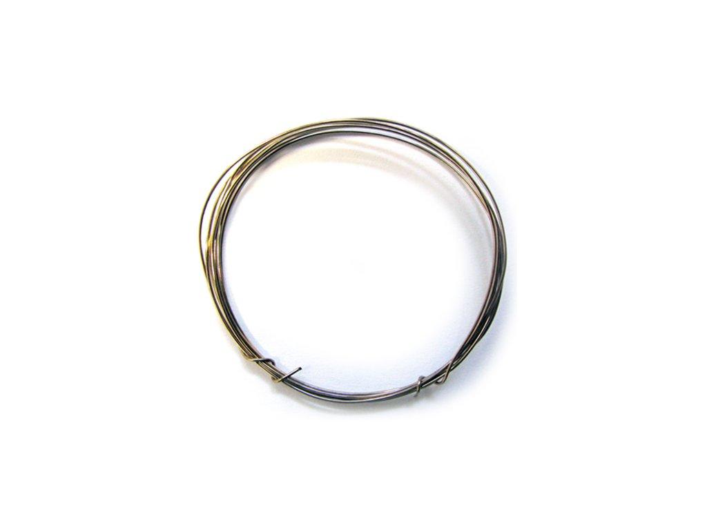 Odporový drát MANGANIN 6,949 Ohm/m 0,28mm (1m)