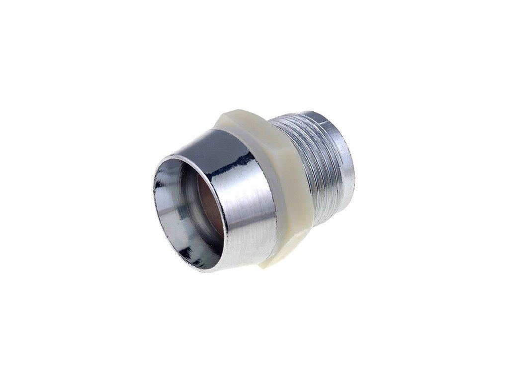 Objímka pro LED 10mm RTP chrom