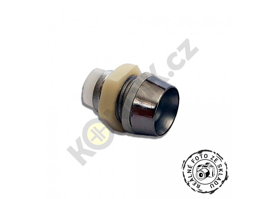 Objímka pro LED 8mm RTP chrom