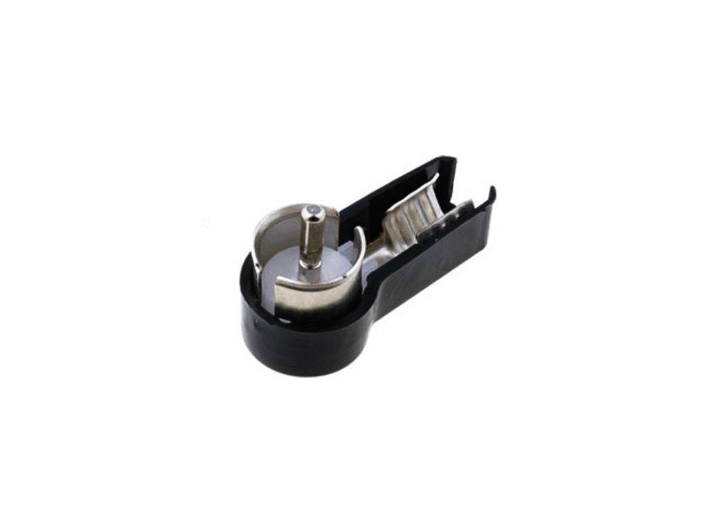 Anténní konektor ISO vidlice úhlová