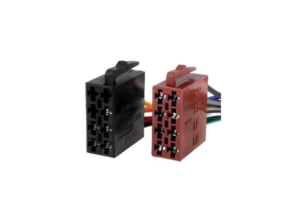 Konektory ISO univerzální zástrčky