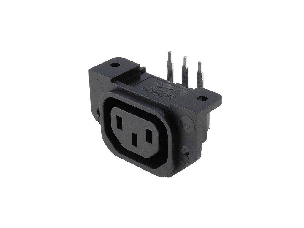 Konektor IEC60320 C13 (F) zásuvka PX0675