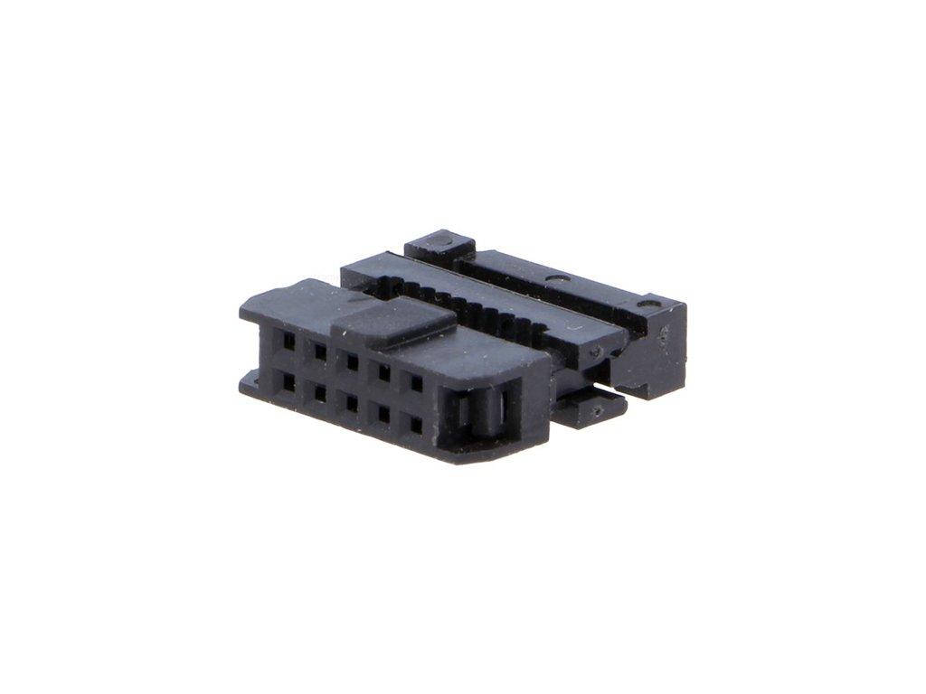 Konektor IDC 10pin zásuvka na kabel 1,00mm