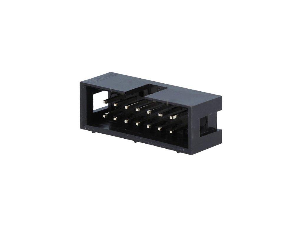 Konektor IDC 14pin vidlice do DPS