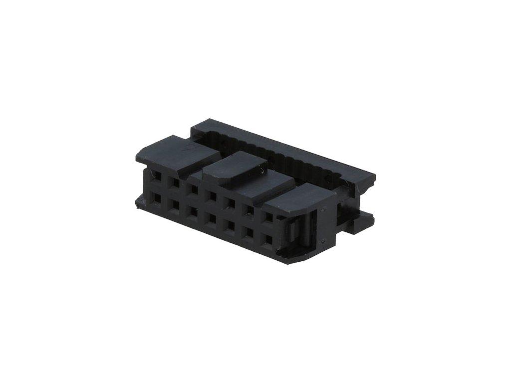 Konektor IDC 14pin zásuvka na kabel 1,27mm
