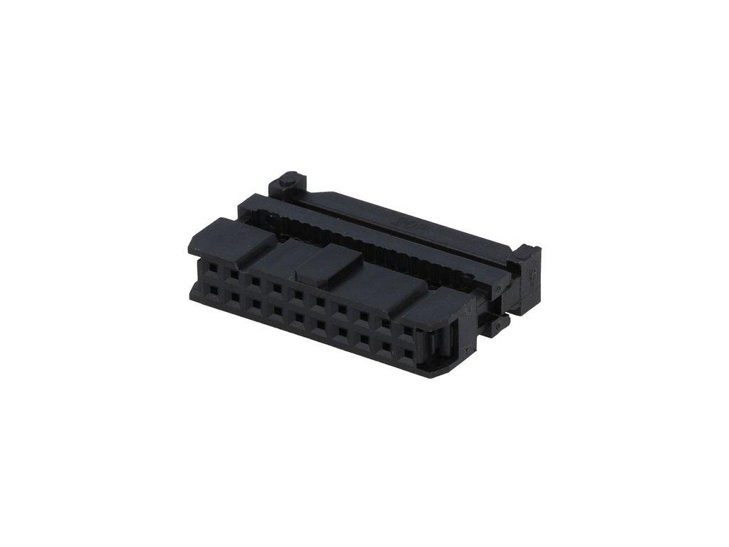 Konektor IDC 20pin zásuvka na kabel 1,27mm