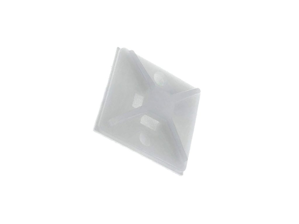 Držák stahovacího pásku 16mm přírodní