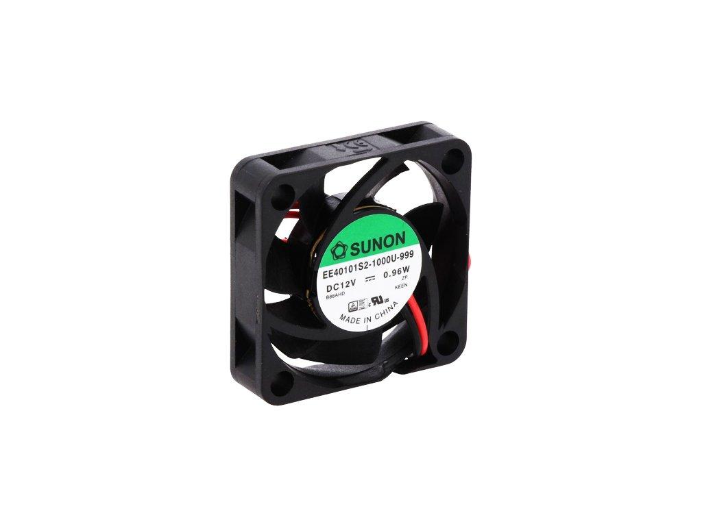 Ventilátor 12VDC 40x40x10mm EE40101S2