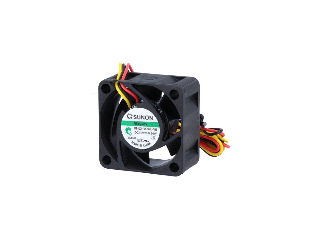 Ventilátor 12VDC 40x40x20mm MF40201VX