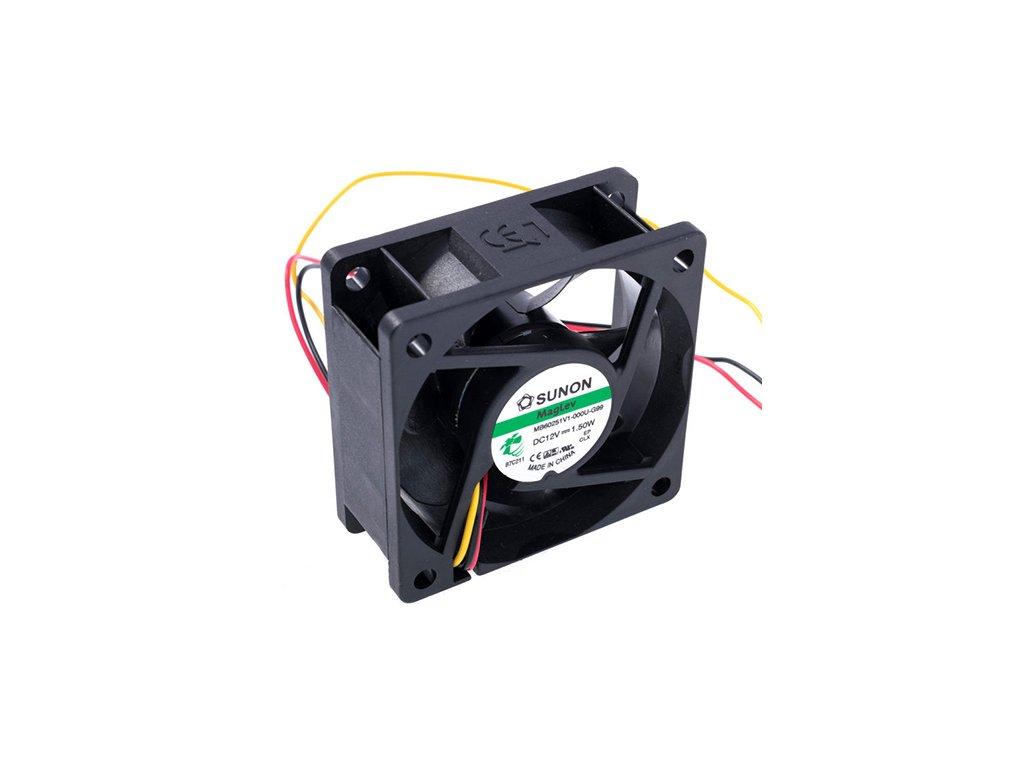 Ventilátor 12VDC 60x60x25mm MF60251V1